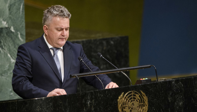 Дискусії в ООН про тероризм мають враховувати злочини Росії на Донбасі – Кислиця