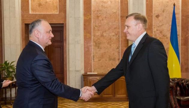 Новый посол Украины начал работу в Молдове