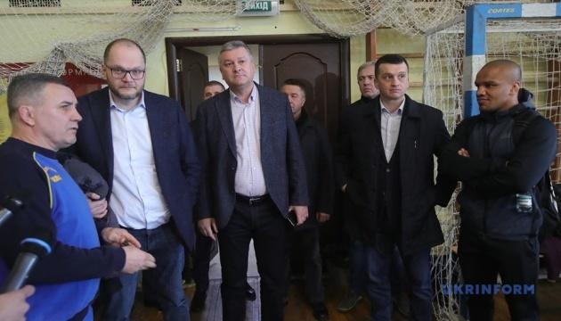 Бородянський відвідав олімпійський центр «Конча-Заспа»