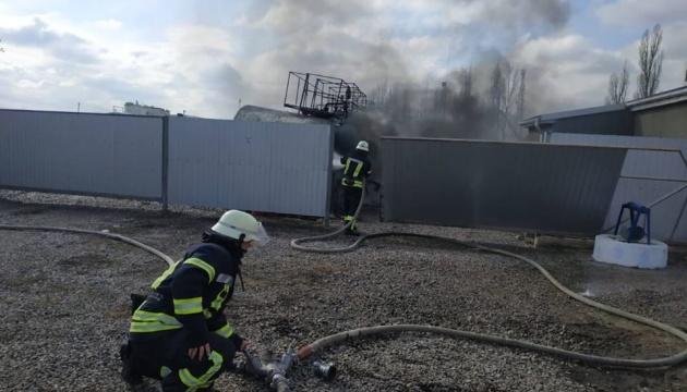 На Херсонщині стався вибух на АЗС, є постраждалі