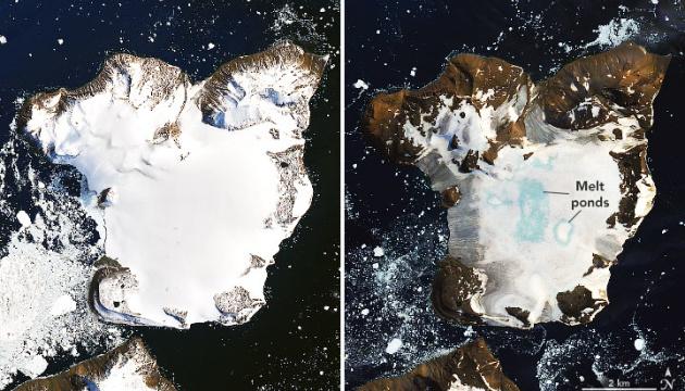 NASA показало швидке танення крижаної шапки в Антарктиді