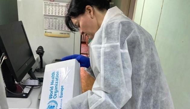 Тест-системи на коронавірус першими отримають три області України
