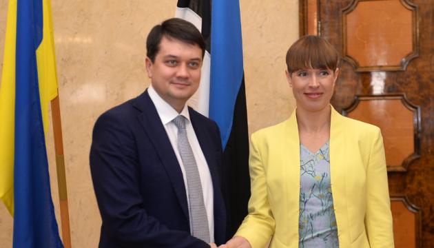 Естонія залишається надійним другом України - Разумков