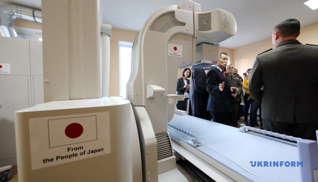 Японія передала військовому госпіталю в Харкові обладнання на вісім мільйонів