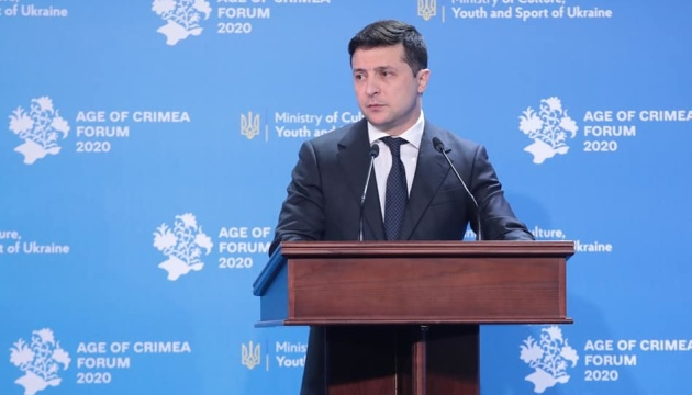 Zelensky: Return of Crimea is inalienable part of Ukraine's national idea