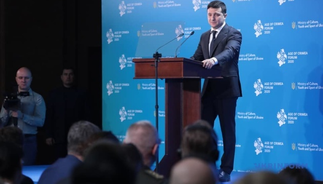 Ukrainian president introduces Day of Resistance to Crimea's Occupation