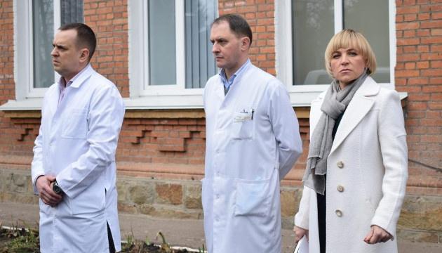 У лікарнях Житомирщини є 240 місць для розміщення хворих з підозрою на коронавірус