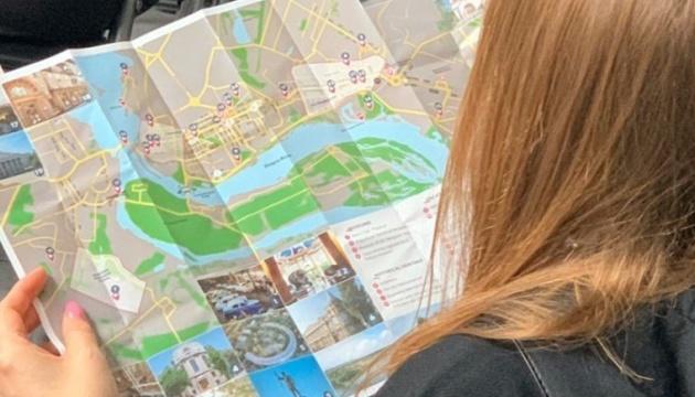 Запоріжжя підготувало туристичну мапу для іноземців