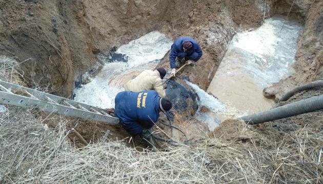 В Песках на Донетчине обследовали и отремонтировали водопровод - штаб ООС