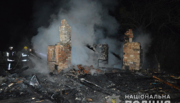 На Волыни в пожаре погибли двое детей