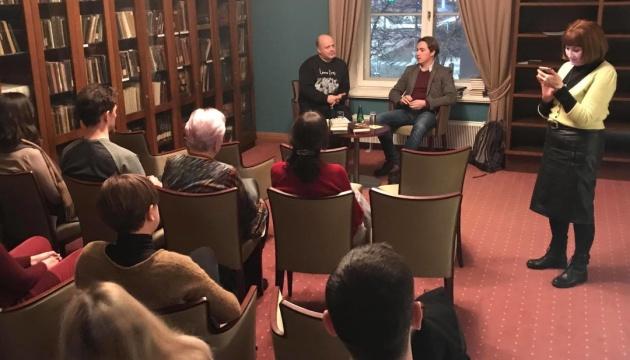 В Таллінні відбулася творча зустріч з українським письменником Андрієм Любкою