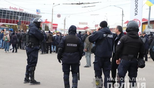 У Харкові затримали 55 осіб, причетних до сутичок на