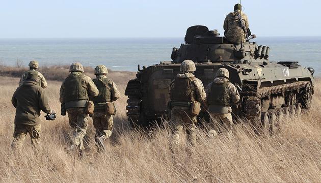 Окупанти випустили п'ять мін по оборонцях Пісків