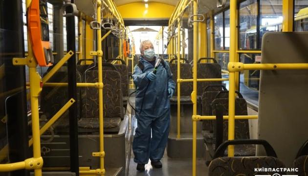 У Києві щодня дезінфікують транспорт - Кличко