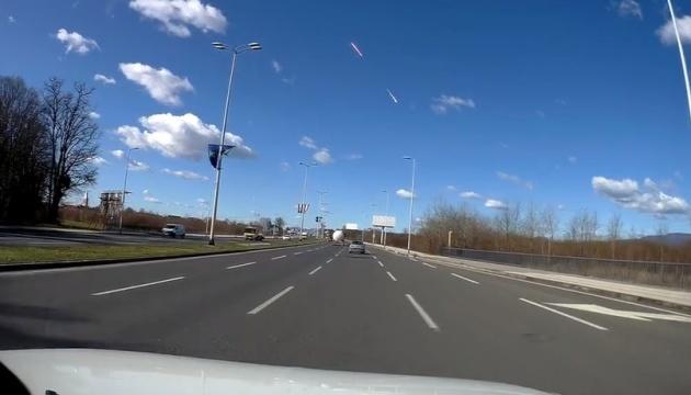 Над Хорватією вибухнув метеорит