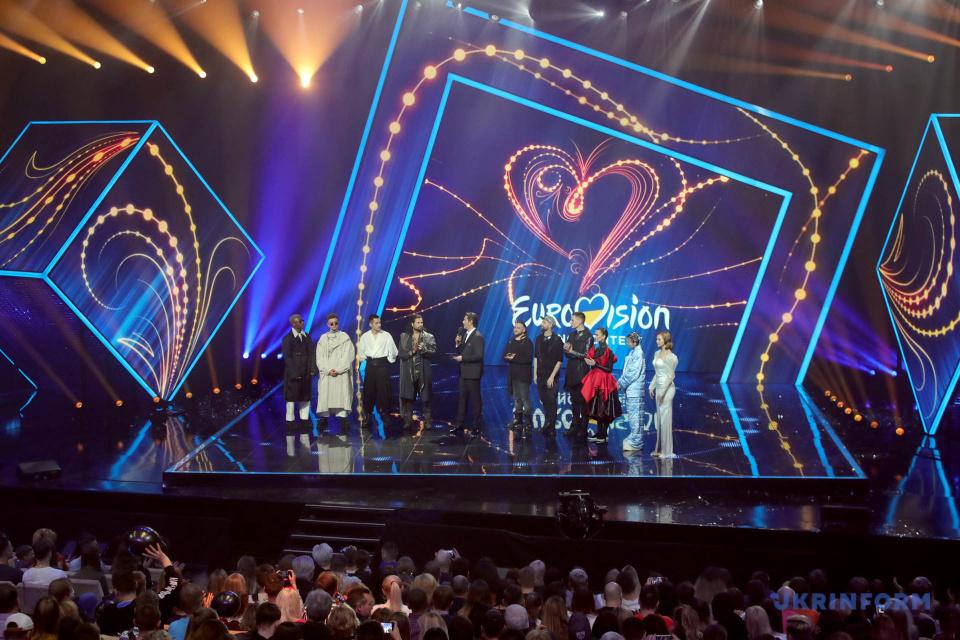 Учасники фіналу нацвідбору на Євробачення-2020 / Фото: Павло Багмут. Укрінформ