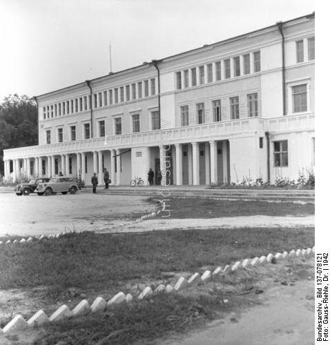Будинок Червоної армії у роки Другої світової війни