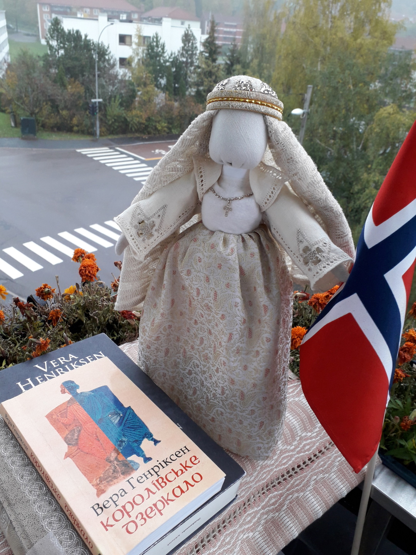 Лялька Елісів від української майстрині в Норвегії Ніни Хаген на