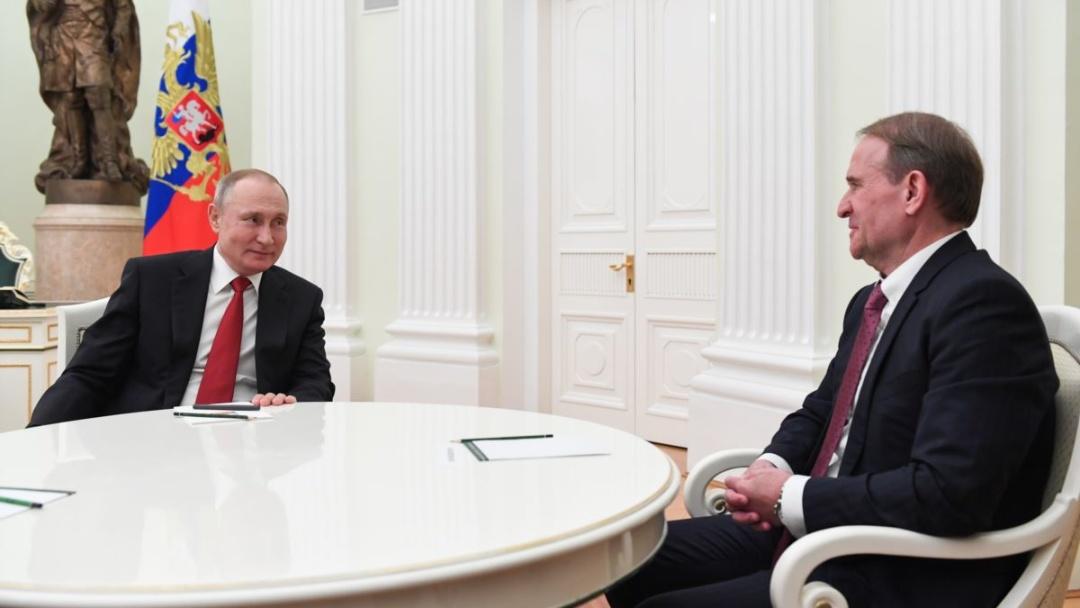 Путін сподівається, що у Медведчука все вийде