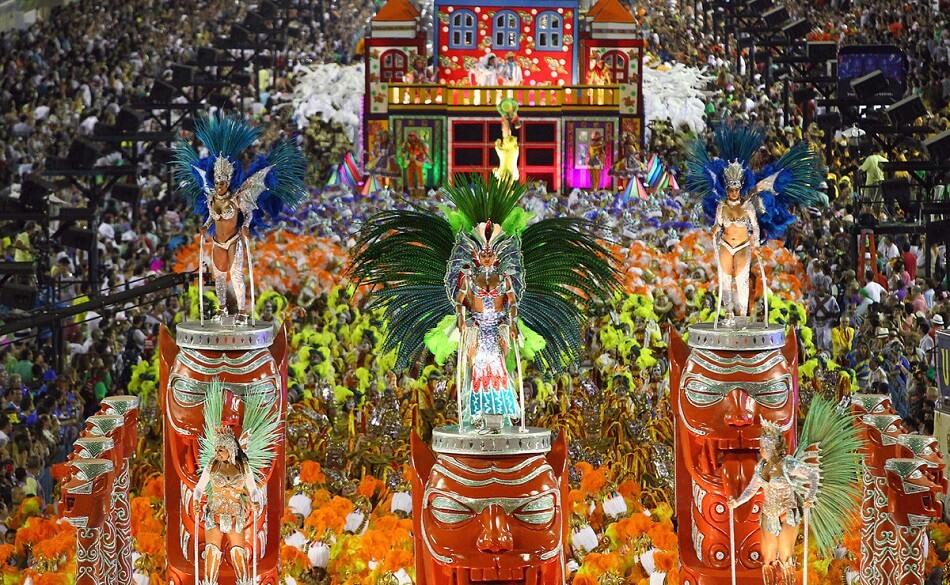 Казковий карнавал у Ріо