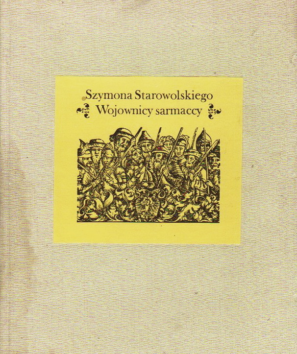 14 обкладинка книжки Сарматські воїни Шимона Старовольского, 1640 р.
