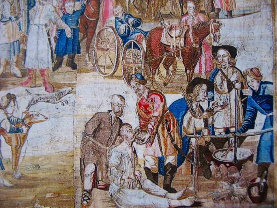 20 Битва під Лоєвим, копія XVIII століття, створена на основі гравюр А. Ван Вестерфельда