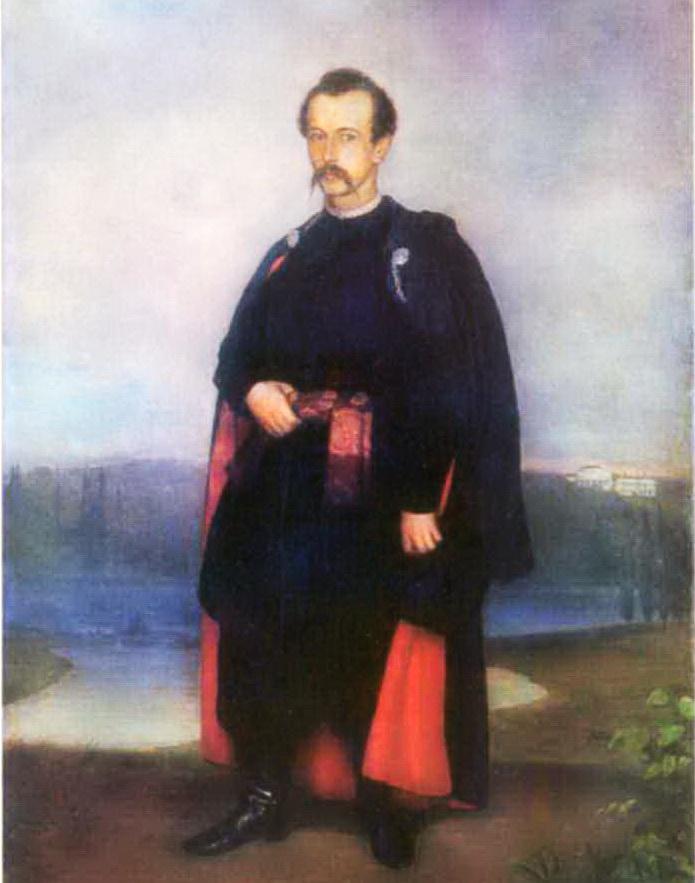 Андрій Горонович, портрет В.В.Тарновського-молодшого. 1860 р. А