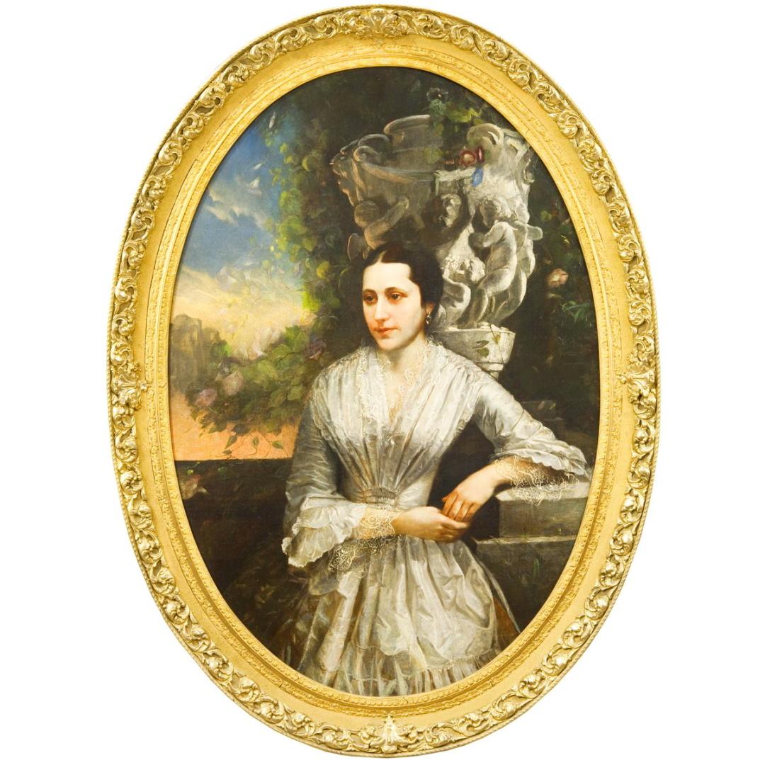 молодша сестра Софія Василівна Тарновська, портрет Опанаса Рогачевського