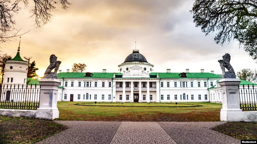 палац родини Тарновських у Качанівці Чернігівської області, сучасний вигляд