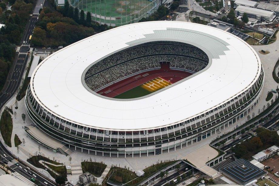 Головний стадіон Олімпіади-2020 у чеканні