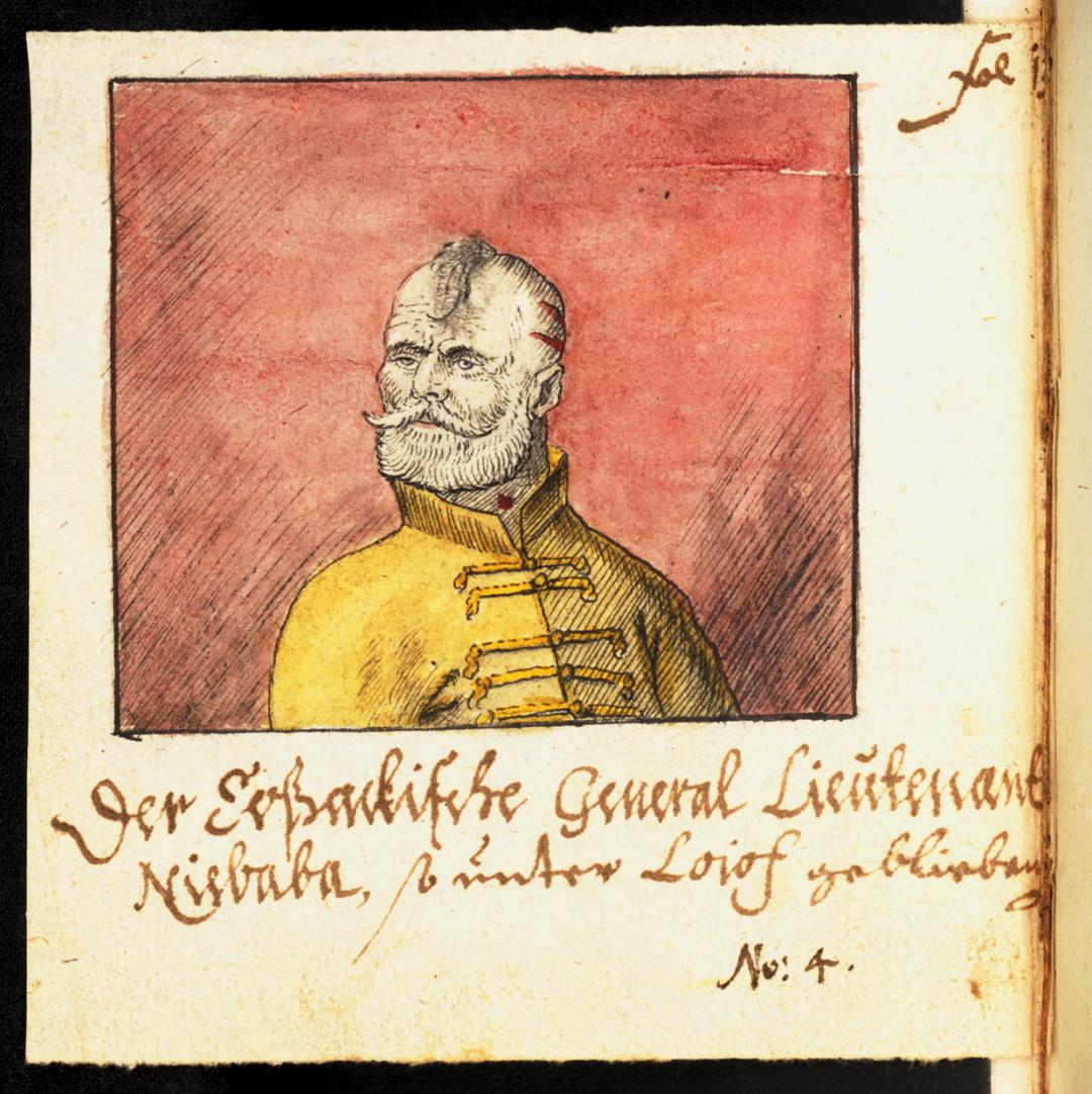 Перший чернігівський полковник Максим Небаба, Абраґам ван Вестерфельд, 1651 р,