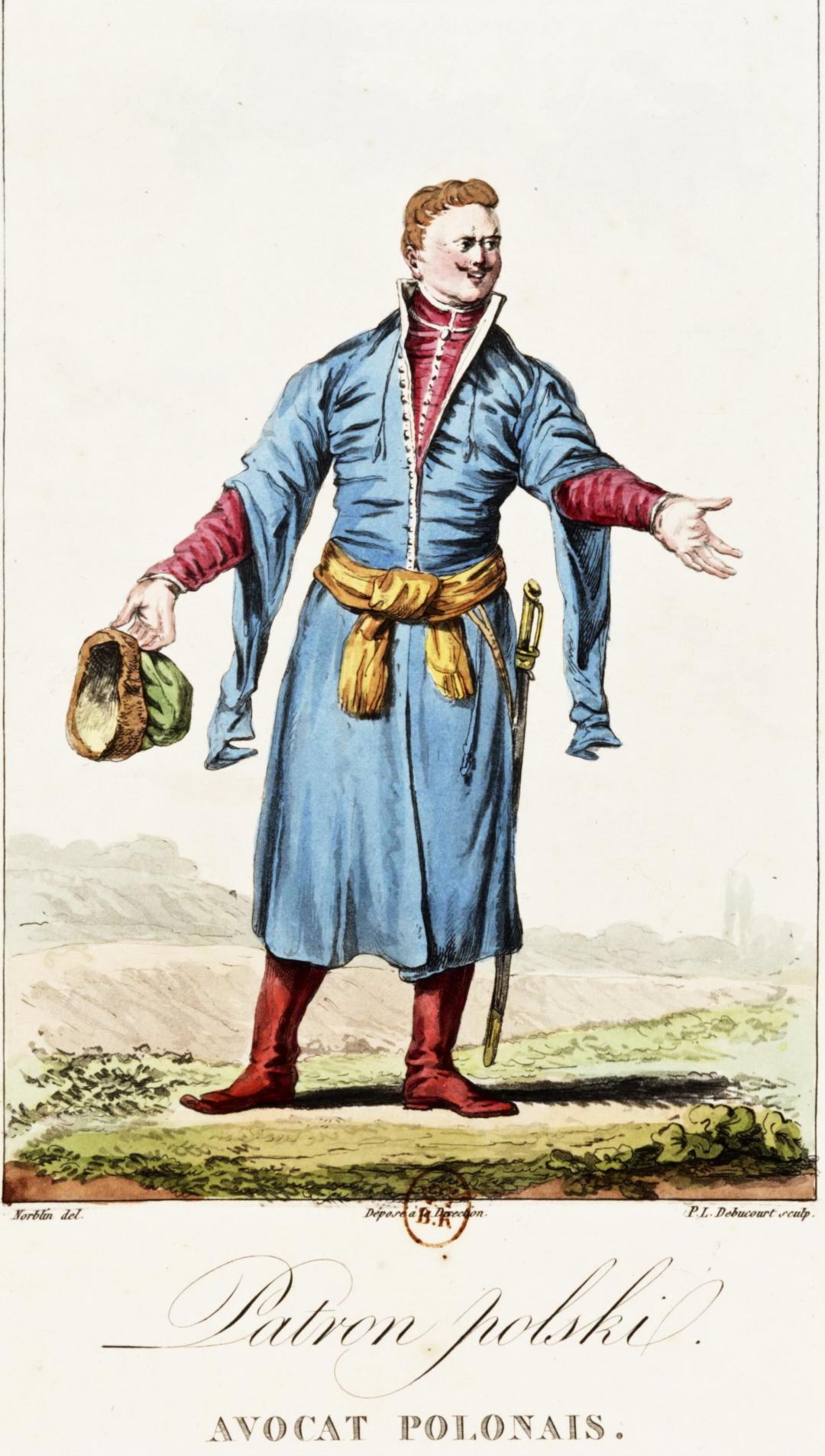 Польський шляхтич у куштуні