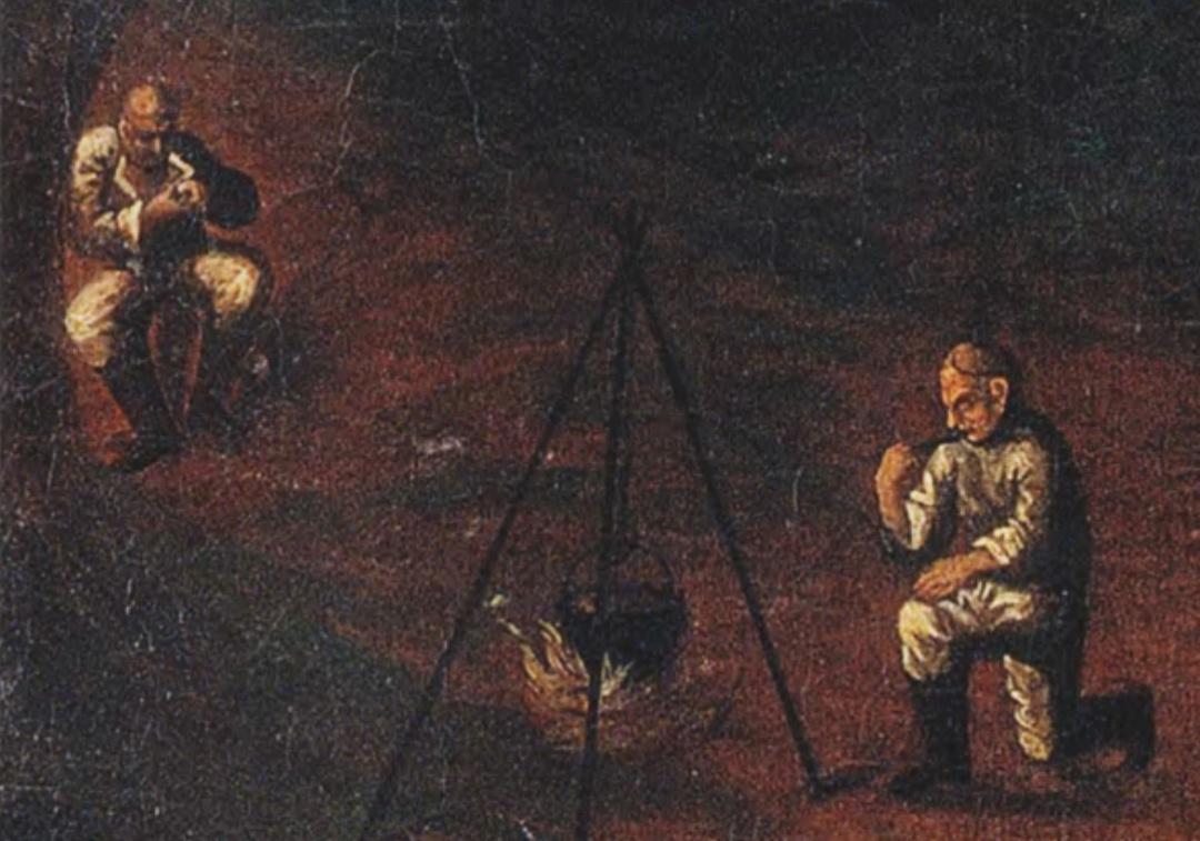 Мамай, фрагмент, Дніпропетровський історичний музей ім. Д. І. Яворницького