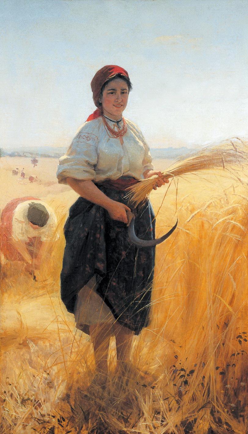 Жниця, 1889 р.