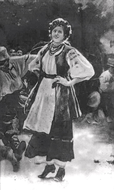 знаменитий  Гопак, куплений в 1909 році Лувром, після як полотно було выдзначена медаллю на Салоні де Парі