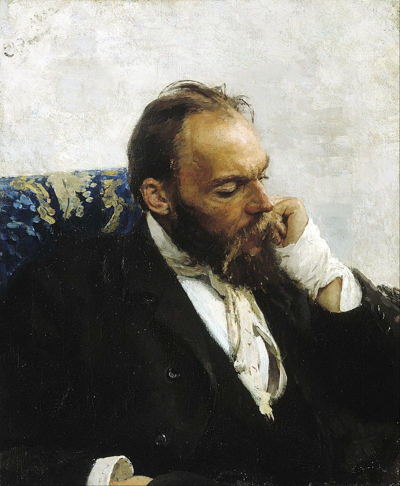 Ілля Репін, портрет Миколи Мурашка, 1882 р.