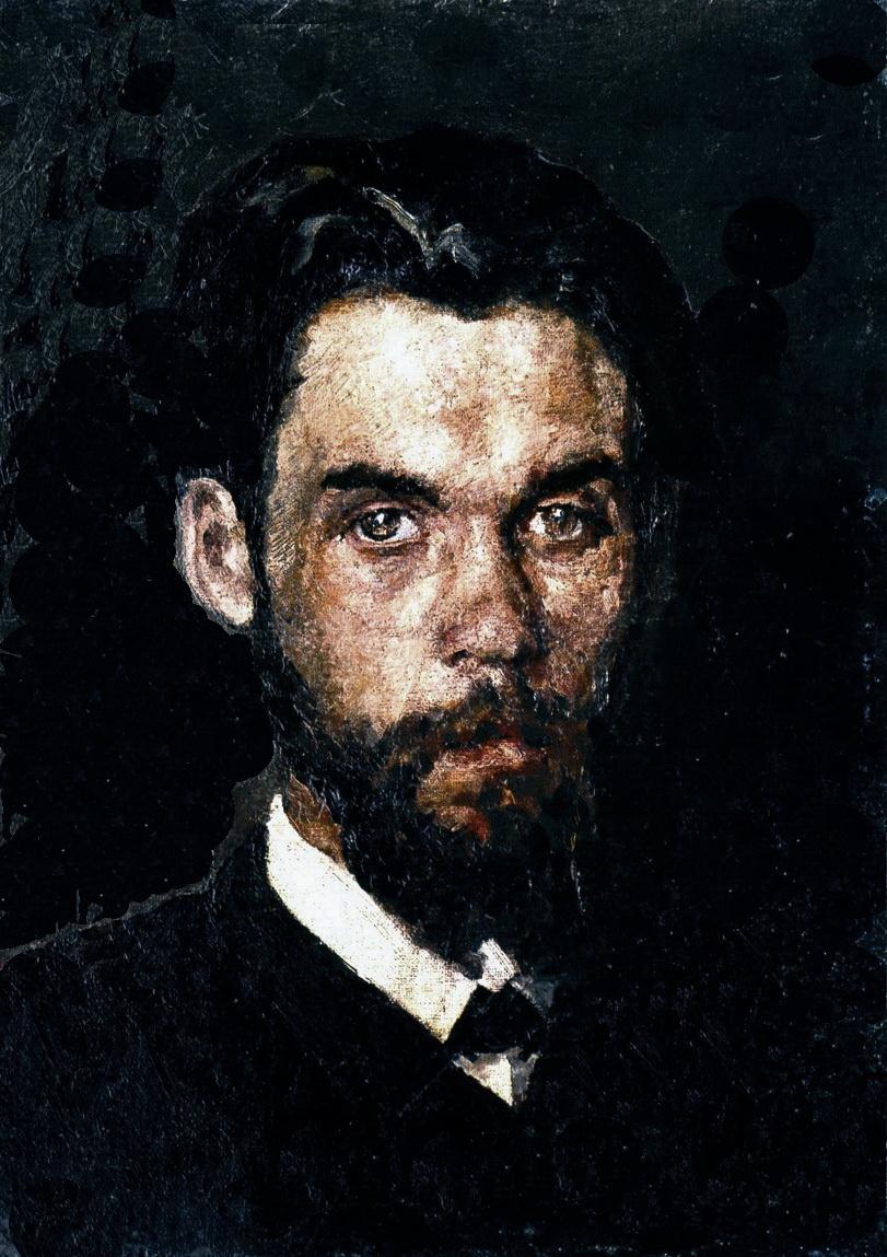 Автопортрет, 1886 р.