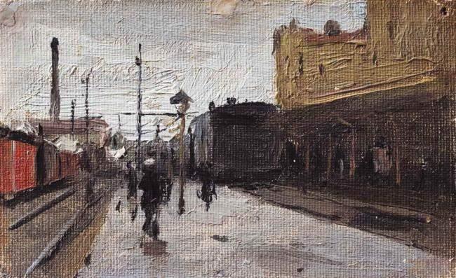 Київський вокзал, 1890-ті рр.