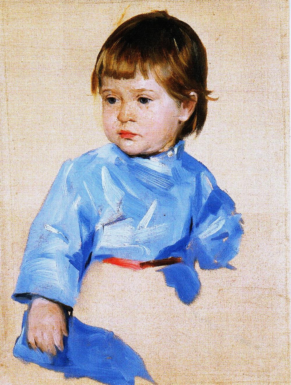 Портрет сина Миколи, етюд, 1906 р.