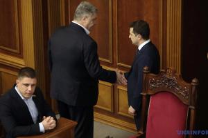 Зеленский vs Порошенко: сколько голосов получили бы сейчас конкуренты на выборах