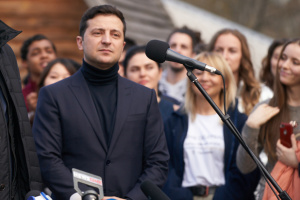 Зеленский поздравил иудеев Украины с Песахом