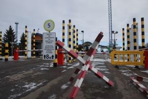 Die Ukraine stoppt heute Passagierverkehr über die Grenze