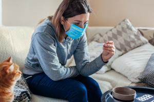 На Житомирщині половина пацієнтів з COVID-19 лікується вдома