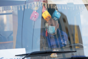 На время локдауна в Киеве на 10% сократили количество транспорта