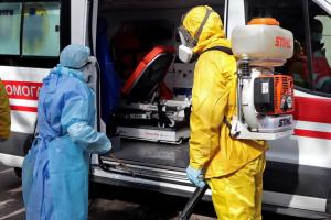 In Ukraine 22.811 Coronavirus-Fälle bestätigt, 429 neue Fälle