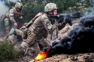 Сили ООС стримували прицільним вогнем окупантів на Донбасі