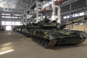 Ukrainian Armed Forces receive upgraded T-80 tanks