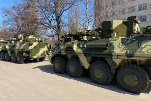 Українська армія отримала чотири БТР-4Е
