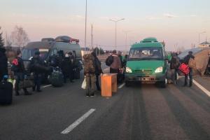 Zdążyć przed zamknięciem - Ukraińcy mogli pieszo przekraczać granicę z Polską