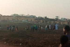 В Нигерии мощный взрыв разрушил сотни домов